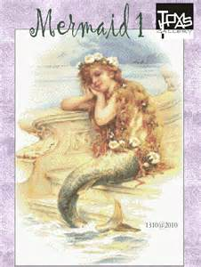 Free Mermaid Cross Stitch Pattern