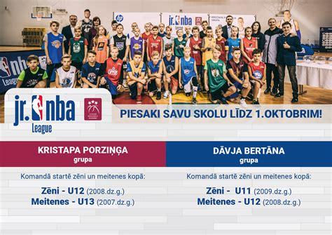 NBA Junioru līgas 4. sezona skolu komandām: piesakies ...