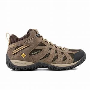 Columbia Men's Redmond Mid Waterproof Hiking Boots - Brown ...