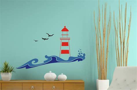 Wandtattoo Kinderzimmer Leuchtturm by Leuchtturm Wandtattoo