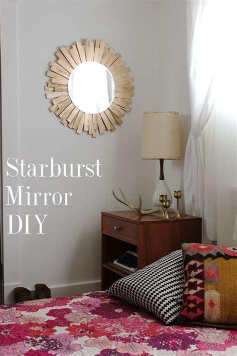 starburst mirror diy  beautiful mess