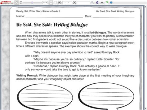 all worksheets 187 dialogue writing worksheets for grade 3