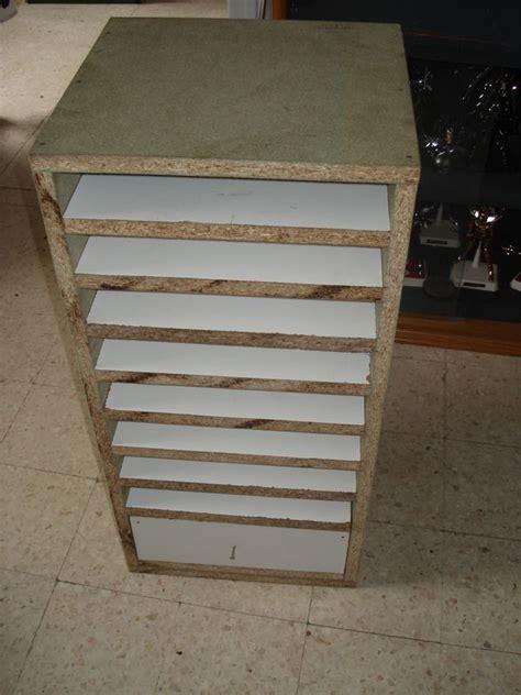 meuble rangement papier scrapbooking the pitbull