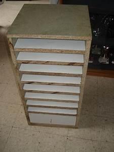 meuble rangement papier scrapbooking the pitbull art