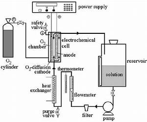 Schematic Diagram Of Pilot Flow Reactor Used For Aniline