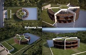 Maison De Lionel Messi : on twitter dit huis heeft messi laten ontwerpen vanuit de lucht zie je een ~ Melissatoandfro.com Idées de Décoration