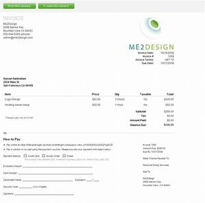Template For Service Invoice Slow Economy Intuit Billing Manager Speeds Payments For