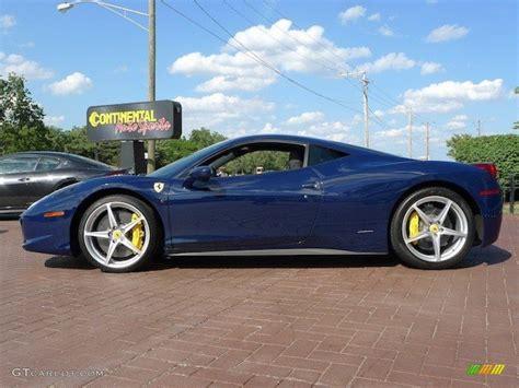 In some ways, the ferrari california t attractives a bit of unfair negativity. 2010 Blue Scozia (Dark Blue) Ferrari 458 Italia #69656918 Photo #2   GTCarLot.com - Car Color ...