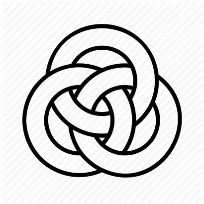 Knot Celtic Icon Link Vector Endless Chain