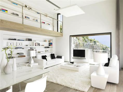white home interior beautiful houses pure white interior design