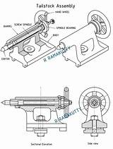 Lathe Drawing Centre Sketch Template sketch template