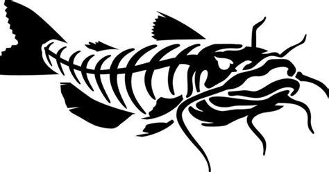 Catfish Skeleton Art For G-rods.