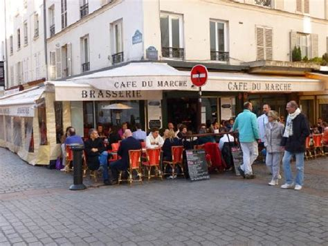 cuisine du marché cavaillon cafe du march rue cler picture of le cafe du