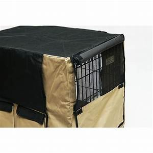 vebo deluxe canvas cover for collapsible pet crate ebay With collapsible canvas dog crate
