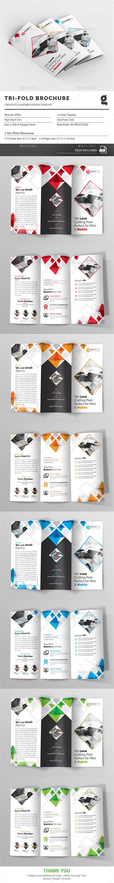 trifold template album ideas tri fold brochure template psd brochure templates
