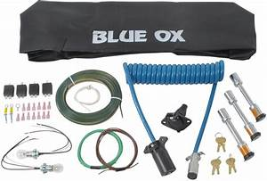 Blue Ox Towing Accessories Kit For Aventa Lx Tow Bars - 7-wire To 6-wire