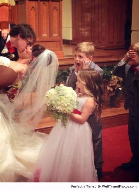 The best wedding picture reactions – These kids are ...