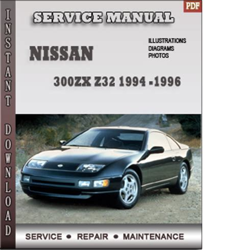 motor repair manual 1994 nissan 300zx regenerative braking 1994 1995 1996 nissan 300zx z32 service repair manual