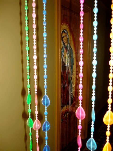 Accessories Ideas by Decorating Enchanting Beaded Curtains For Inspiring Home