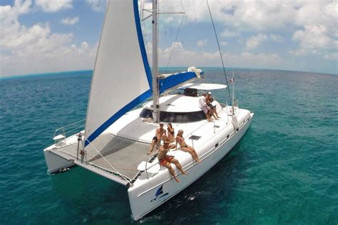 Sailing Catamaran Kit Boats by Luxury Boat Rentals Cancun Mx Custom Catamaran 5829