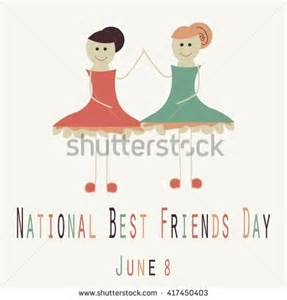 National Best Friends Day June 8