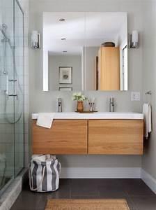 Ikea Meuble De Salle De Bain : meuble salle de bain bois ikea rangement salle de bain colonne de salle de bain en bambou ~ Teatrodelosmanantiales.com Idées de Décoration