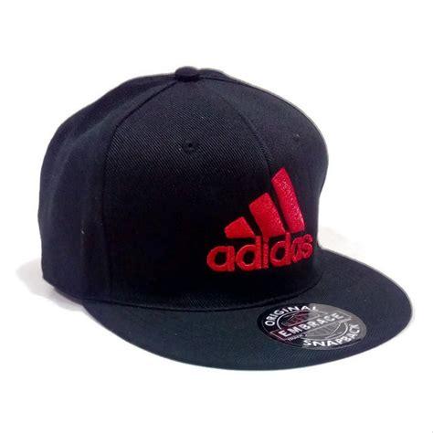 jual topi adidas snapback hitam merah di lapak aksesorismira aksesorismira