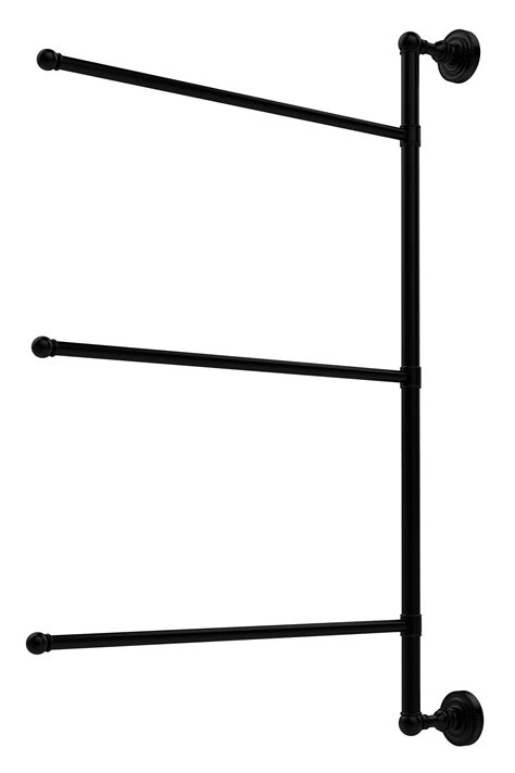 Allied Brass Dottingham Wall Mounted Towel Rack & Reviews