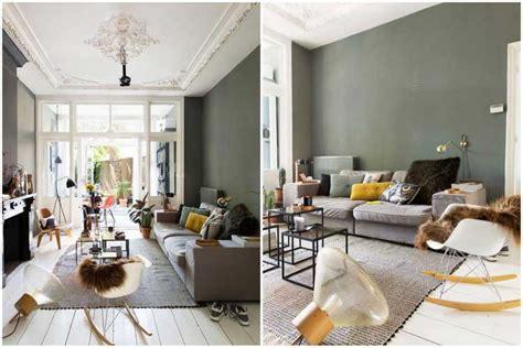 cuisine grise quelle couleur pour les murs comment intégrer la couleur vert kaki dans sa décoration