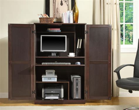 home office desk armoire office armoires furniture office compact computer armoire furniture roselawnlutheran within