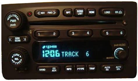 chevy tahoe factory stereo  disc changer