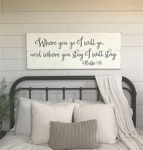 bedroom wall decor       wood signs etsy