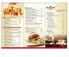 菜單設計範本  - 愛淘生活