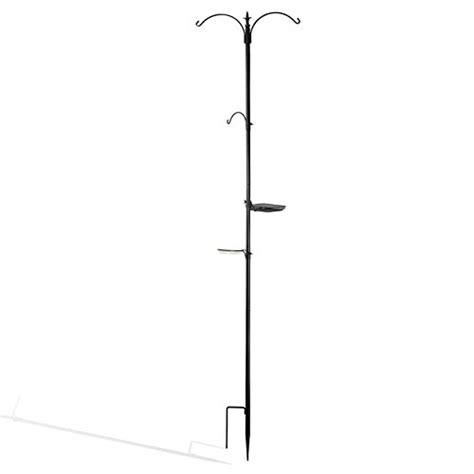 multi feeder tree hanging bird feeding station pole tray