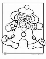 Clown Coloring Pages Clowns Printable Colouring Print Sheets Template Gangster Circus Cream Printer Halloween Popular Coloringtop sketch template