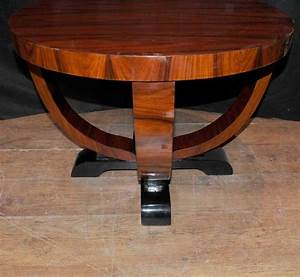 Art, Deco, Side, Table, Rosewood, Occassional, Cocktail, Tables