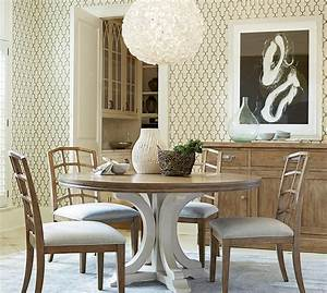 French, Modern, 5, Piece, Round, Dining, Room, Set