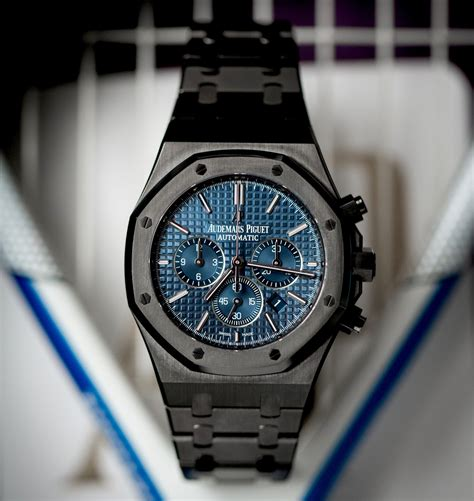 audemars piguet royal oak audemars piguet royal oak blue titan black