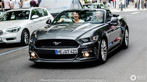 Ford Mustang Convertible 2015 by Ford Mustang Gt Convertible 2015 21 Sierpie 2016