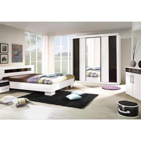 cdiscount chambre adulte chambre à coucher complète dublin adulte design blanche