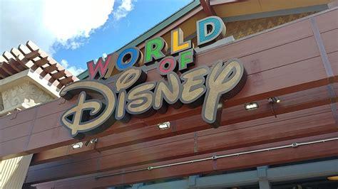 revamped world disney store opens disney springs
