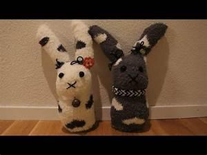 Aus Socken Basteln : diy oster special osterhasen aus socken l basteln zu ostern 13 youtube ~ Watch28wear.com Haus und Dekorationen