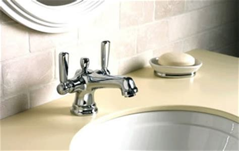 Kohler Bancroft Monoblock Faucet by Kohler Bancroft Bathroom Collection At Faucet Depot