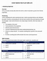 Event Marketing Plan Template - 7+ Free Word Documents ...