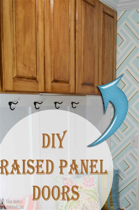 how to build raised panel cabinet doors remodelaholic how to make a shaker cabinet door