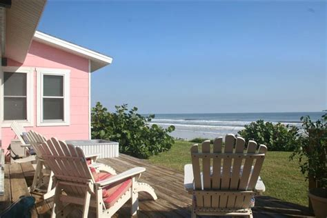 pink house oceanfront cottage  minutes