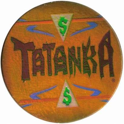 Wwf Wrestling Federation Panini Tatanka Caps