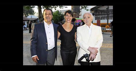 soiree au patio de camargue alessandra sublet entour 233 e de chico et charles aznavour lors de la soir 233 e de solidarit 233 chico