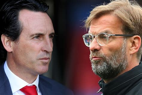Unai Emery Says Liverpool Are a 'Perfect Example' for Arsenal