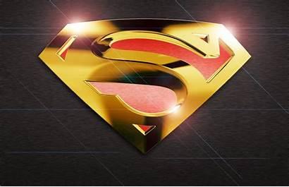 Superman Gold Iphone Wallpapersafari Buzzerg